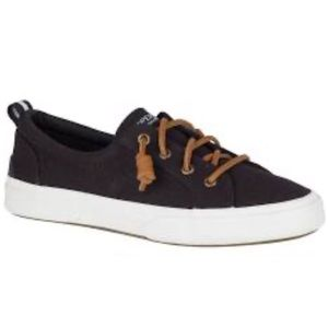 Sperry Top-Sider Navy Pier Wave Canvas Sneakers